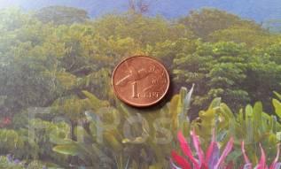 Экзотика. Тринидад и Тобаго. 1 цент 2003 года. Фауна!