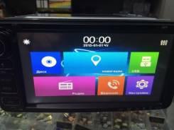 Тойотовская магнитола с большим экраном 7 дюймов