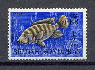 1969г. Британ. Гондурас.