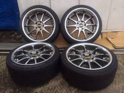 Blitz Techno Speed. 9.0/9.5x18, 5x114.30, ET32/38, ЦО 73,0 мм.