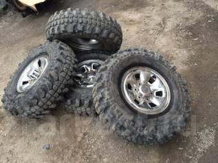 Внедорожный комплект колес. 8.0x15 6x139.70 ET0