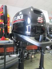 Suzuki. 5,00л.с., 4х тактный, бензин, нога S (381 мм), Год: 2016 год
