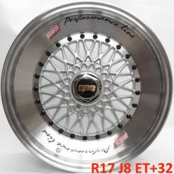 BBS Super RS. 8.0x17, 4x100.00, 4x114.30, ET32, ЦО 73,1мм.