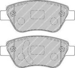 Колодки тормозные дисковые передние opel corsa d