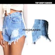 Шорты джинсовые. 38, 40, 42, 44, 46, 48, 50. Под заказ