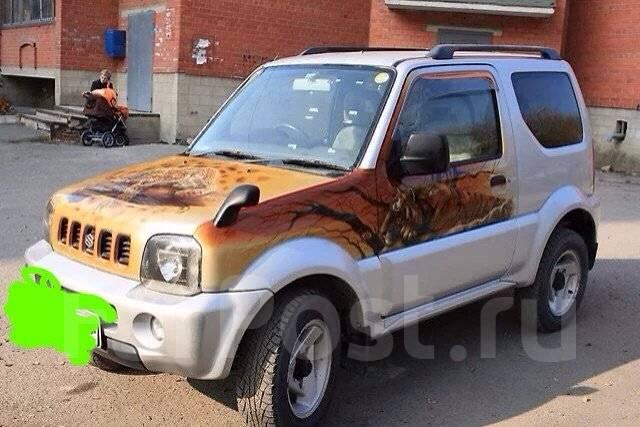Suzuki Jimny Wide. автомат, 4wd, 1.3, бензин, 68 000тыс. км, б/п