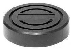 Опора резиновая обхватывающая для подкатных домкратов O-120 мм, Н-28 мм.