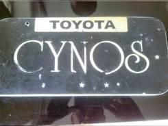 Рамка для крепления номера. Toyota Cynos
