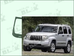 Лобовое стекло Jeep CHEROKEE 2007-2013 (KK) пятак-зерк датчик (Зеленоватый оттенок, Бpeнд:Benson)