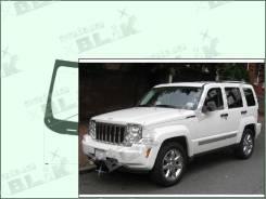 Лобовое стекло Jeep LIBERTY 2007-2013 (KK) пятак-зерк датчик (Зеленоватый оттенок, Бpeнд:Benson)