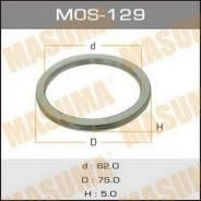 Кольцо глушителя MOS129, 75х62х5мм MASUMA (71113)