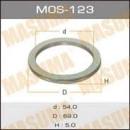 Кольцо глушителя MOS123, 69х54х5мм MASUMA (71111)