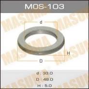 Кольцо глушителя MOS103, 48х33х5мм MASUMA (71102)
