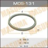Кольцо глушителя MOS131, 78х68х5мм MASUMA (71115)