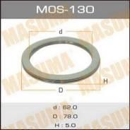 Кольцо глушителя MOS130, 78х62х5мм MASUMA (71114)