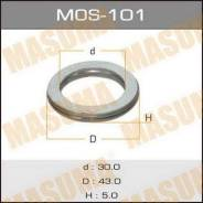 Кольцо глушителя MOS101, 43х30х5мм MASUMA (71100)