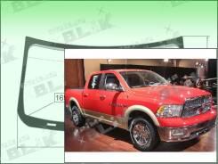 Лобовое стекло Dodge RAM 2009- (4th Gen) 1668*965*1695 пятак-зерк (Зеленоватый оттенок с зеленым козырьком, Бренд:ВSG)
