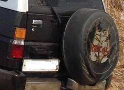 Колпаки запасного колеса.