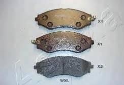 Колодки тормозные передние chevrolet lacetti под датчик