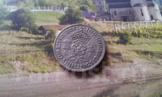 Великобритания. 2 шиллинга (1 флорин) 1948 г. Большая красивая монета!