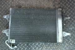 Радиатор кондиционера skoda fabia с ресивером