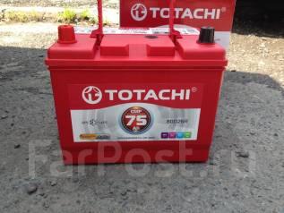 Totachi. 75 А.ч., правое крепление, производство Япония