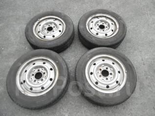 Диски с резиной Dunlop 185/65R14 лето. 5.0x14 5x114.30