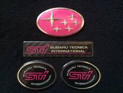 Эмблема. Subaru Impreza WRX STI Subaru Impreza, GF8, GC8 Двигатели: EJ20K, EJ207, EJ20G