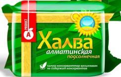 Халва Подсолнечная 325гр 1/48 (Рахат, Казахстан), , шт