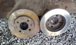 Диск тормозной. Nissan Sunny, FB14 Двигатель GA15DE