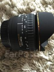 Продам объектив Sigma fisheye 15mm f/2.8. диаметр фильтра 49 мм