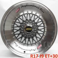 BBS RS. 9.0x17, 4x100.00, 4x114.30, ET30, ЦО 73,1мм.