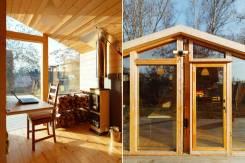 Дом с баней деревянные круглогодичные за 600тыс