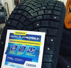 Michelin Latitude X-Ice North 2+. Зимние, шипованные, без износа, 1 шт