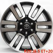 Toyota. 8.5x20, 6x139.70, ET20, ЦО 106,1мм.