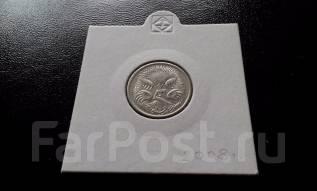 Австралия. 5 центов 2008 года. Ехидна.