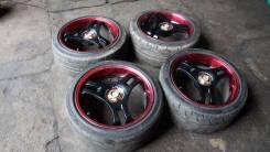 Диски Advan Super + Dunlop Direzza Sport Z1 Star Spec 245/40 R18. 9.0x18 5x114.30 ET42
