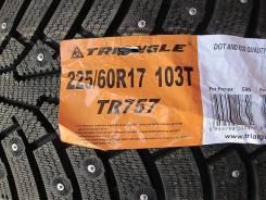 Triangle Group TR757. Зимние, шипованные, без износа, 4 шт