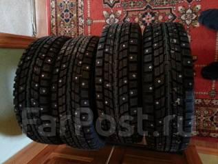 Dunlop SP Winter ICE 01. Зимние, шипованные, 2015 год, без износа