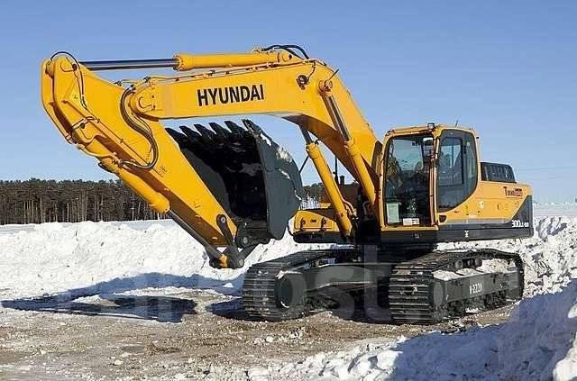 Hyundai. Экскаватор R300LC-9S, 1,49куб. м.