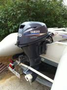 Yamaha. 20,00л.с., 4х тактный, бензин, Год: 2011 год