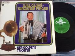 JAZZ! Уил Глаэ / Will Glahe - Tanzende Finger - DE 2 LP