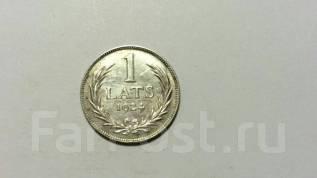 1 лат Латвия