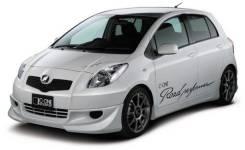 Обвес кузова аэродинамический. Toyota Vitz, SCP90, NCP91, NCP95, KSP90