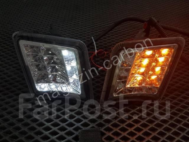 Ходовые огни. Toyota Prius, NHW20, ZVW30, ZVW30L Двигатели: 1NZFXE, 2ZRFXE