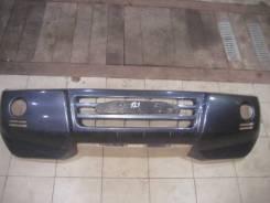 Бампер передний б/у оригинал Pajero 3/Montero 3 2003-2006