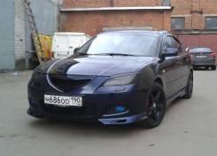 Накладка на бампер. Mazda Mazda3, BK Двигатели: MZRLF17, MZCDY601, MZRZ6, MZRL3VE, MZRZJVE