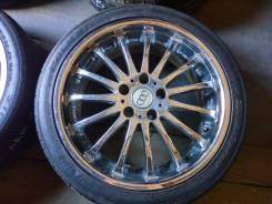 Красивый многоспицевый хром на шинах Falken Ziex R18. 7.5x18 5x114.30 ET45 ЦО 73,0мм.