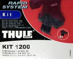 Крепёжный комплект для багажника Thule 1200 Ford Escape, 5-dr SUV, 00-, Ford Maverick, 5-dr SUV, 01-, Mazda Tribute, 5-dr SUV, 00-03, 04-