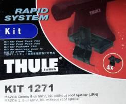 Крепёжный комплект для багажника Thule 1271 Mazda Demio, 5-dr MPV, 02- without roof spoiler,Mazda 2, 5-dr MPV, 03- without roof spoiler